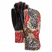 Перчатки Burton Wms Profile Under Glove, cheetah floral