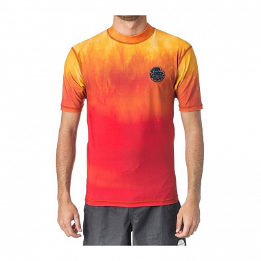 Гидромайка Rip Curl Faded S/S UV Tee, orange