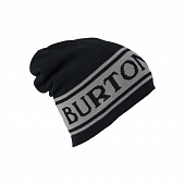 Шапка Burton Billboard Slouch - Reversible, true black/iron gray