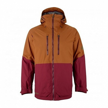 Куртка Burton Warren, crimson/true penny