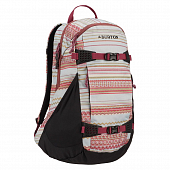 Рюкзак Burton Wms Day Hiker 25L, aqua gray revel stripe print