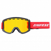Маска Dainese Frequency Goggles, black/red/red-ion