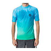 Гидромайка Rip Curl Faded S/S UV Tee, aqua
