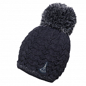 Шапка Phenix Wms Aurora Knit Hat with Pon-Pon, dark navy