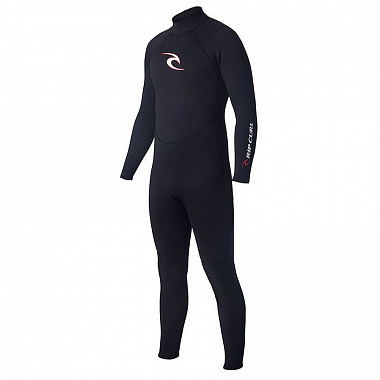 Гидрокостюм Rip Curl Surf School 53 GB Steamer, black/black