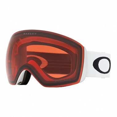 Маска Oakley Flight Deck (Линза: Prizm Snow Rose), matte white