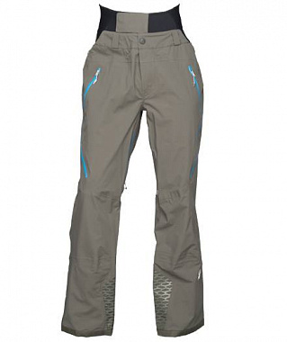 Брюки Spyder Nordwand Shell Pant, osetra/electric blue