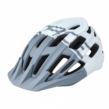 Велошлем Force Corella MTB, grey/white
