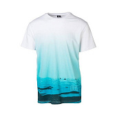 Майка Rip Curl Glassy Day Ss Tee, optical white
