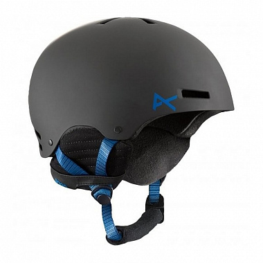 Шлем Anon Raider, black/blue