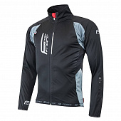 Велокуртка Force X80 light softshell, black/grey