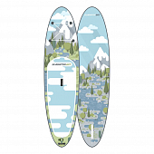 Сап Борд (Sup Board) Gladiator Art (Forest) 10'8""