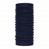 Бандана Buff Midweight Merino Wool, night blue melange