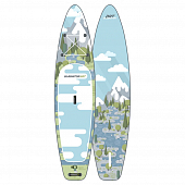 Сап Борд (Sup Board) Gladiator Art (Forest) 12'6""