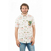 Рубашка Rip Curl Brashy Ss Shirt, optical white