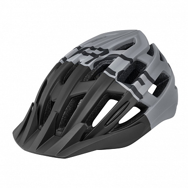 Велошлем Force Corella MTB, black/grey