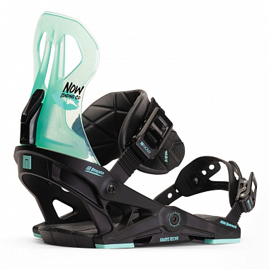 Крепления Now Wms Brigada, black/turquoise