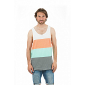 Майка Rip Curl Essential Stripes Tank, mood indigo