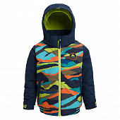 Куртка Burton Youth Boys Game Day, summit stripe/dress blue