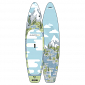 Сап Борд (Sup Board) Gladiator Art (Forest) 11'2""