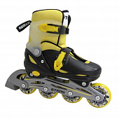 Роликовые коньки Atemi Youth AJIS-12.05 Neon hard boot, PP, Abec1
