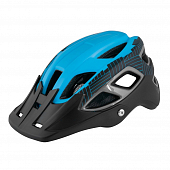 Велошлем Force Aves MTB, black/blue