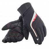 Перчатки Dainese HP2 Gloves, stretch limo/high risk red