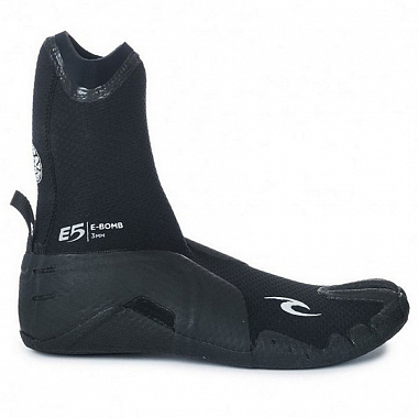 Гидрообувь Rip Curl E-Bomb 3mm - Split Toe, black