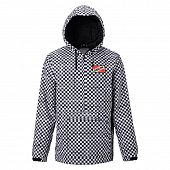 Куртка Analog Caldwell Anorak, stout white speed check