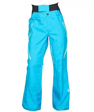 Брюки Spyder Nordwand Shell Pant, electric blue/acid