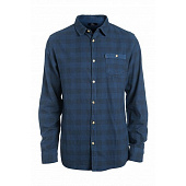Рубашка Rip Curl Check It Ls Shirt, mood indigo