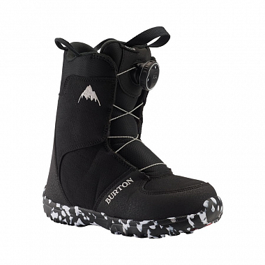 Ботинки Burton Youth Grom Boa, black